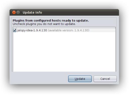 How to install Jalopy from a custom IntelliJ IDEA plugin